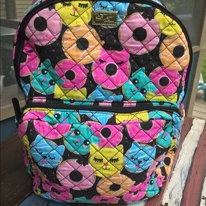 🐾😸NWT Betsey Johnson Quilted Cat Backpack😸🐾